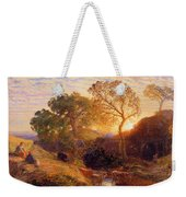 Sunset Weekender Tote Bag by Samuel Palmer