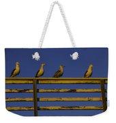 Sunset Seagulls Weekender Tote Bag