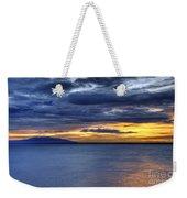 Sunset Seascape Alaska Weekender Tote Bag