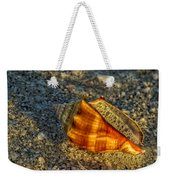 Sunset Seashell Weekender Tote Bag