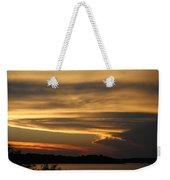 Sunset Shelbyville Weekender Tote Bag