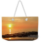 Sunset Shore Weekender Tote Bag