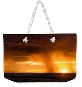 Sunset Shower Weekender Tote Bag