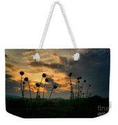 Sunset Silhouettes In June Weekender Tote Bag