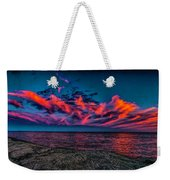 Sunset Sky At East Point Weekender Tote Bag