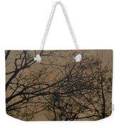 Sunset Snow Weekender Tote Bag