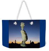 Sunset Stacks Weekender Tote Bag