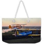 Sunset Stearmans Weekender Tote Bag