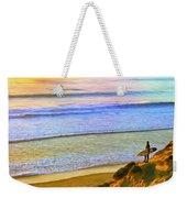 Sunset Surf At La Jolla Weekender Tote Bag