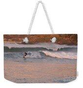 Sunset Surfing Weekender Tote Bag