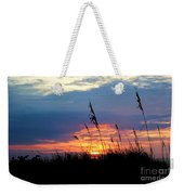 Sunset Through The Oats Weekender Tote Bag