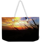 Sunset Through The Sea Grass Weekender Tote Bag