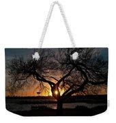 Sunset Through The Tree Weekender Tote Bag