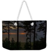 Sunset Through The Trees Weekender Tote Bag