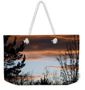 Sunset Thru The Trees Weekender Tote Bag