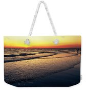 Sunset Time On Sunset Beach Weekender Tote Bag