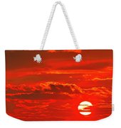 Sunset Weekender Tote Bag by Tony Beck