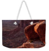 Sunset Tour Valley Of The Gods Utah Vertical 01 Weekender Tote Bag