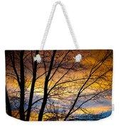 Sunset Tree Silhouette Weekender Tote Bag