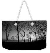 Sunset Trees Weekender Tote Bag