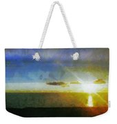 Sunset Under The Clouds Weekender Tote Bag
