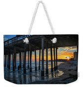 Sunset Under The Ventura Pier Weekender Tote Bag