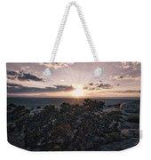 Sunset Valley Of The Gods Utah 01 B Weekender Tote Bag