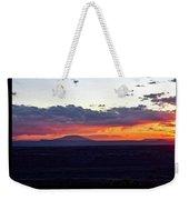 Sunset Valley Of The Gods Utah 05 Text Black Weekender Tote Bag