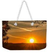 Sunset Vienna West Virginia Weekender Tote Bag