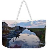 Sunset View At The Art League Of Ocean City - Maryland Weekender Tote Bag
