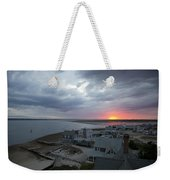 Sunset View From Sandy Neck Light Weekender Tote Bag