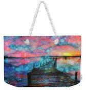Sunset View Weekender Tote Bag