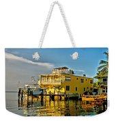 Sunset Villas Hdr Weekender Tote Bag