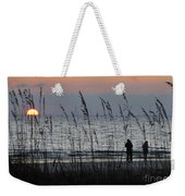 Sunset Watching Weekender Tote Bag