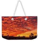 Sunset Wave Weekender Tote Bag
