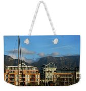 Sunset With Table Mountain Weekender Tote Bag