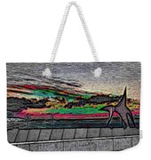Sunset With The Eagle Weekender Tote Bag