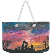 Sunset With You Weekender Tote Bag