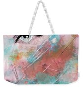Sunset - Woman Abstract Art Weekender Tote Bag