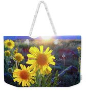 Sunsets And Sunflowers In Buena Vista Weekender Tote Bag
