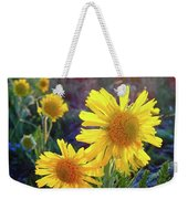 Sunsets And Sunflowers Of Buena Vista 2 Weekender Tote Bag