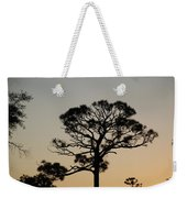 Sunsetting Thru The Trees Weekender Tote Bag