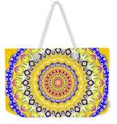 Sunshine And Blue Skies Mandala Weekender Tote Bag
