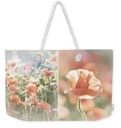 Sunshine And Poppies Weekender Tote Bag
