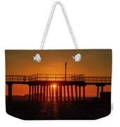 Sunshine At Wildwood Crest Pier Weekender Tote Bag