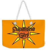 Sunshine Girl Weekender Tote Bag
