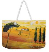 Sunshine In Tuscany In The Morning Weekender Tote Bag