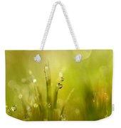 Sunshine Moss Weekender Tote Bag