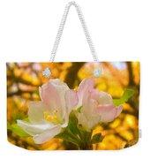 Sunshine On Apple Blossoms Weekender Tote Bag