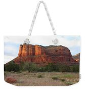 Sunshine On Courthouse Butte Weekender Tote Bag